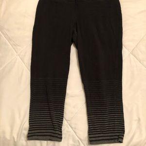 Maurice's 7/8 Capri active leggings